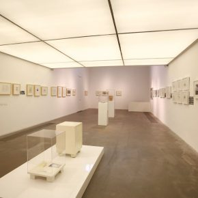 04 Installation view of the exhibition 2 290x290 - The Research Exhibition of Chinese Contemporary Art Masters' Manuscripts (First Chapter) & Seminar was held