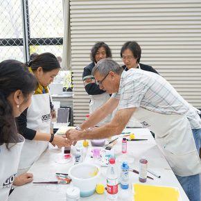 """05 Teachers from CAFA attended the course 290x290 - When Teachers Once Again Become Students: """"Propelling the popularization for the Knowledge & Charactistic of Acrylic Materials and its Application"""""""