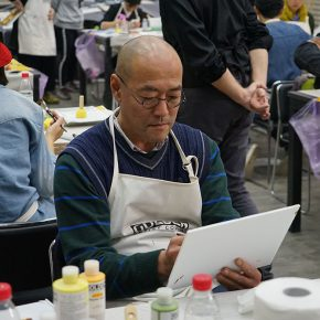 """07 Teachers from CAFA attended the course 290x290 - When Teachers Once Again Become Students: """"Propelling the popularization for the Knowledge & Charactistic of Acrylic Materials and its Application"""""""