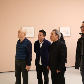"08 Honored guests visited the exhibition 290x290 - Inquiry of the Heart: Wang Shaojun's Solo Exhibition ""It's Me"" in Chongqing"