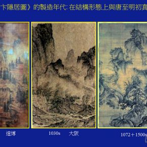 """08 The group of Chinese landscape paintings that came from the 980s the 1030s and the 10721500s showed a strong sense of the times 290x290 - Joan Stanley-Baker × Shao Yan: Wang Meng's """"Dwelling in the Qingbian Mountains"""" and Other Works under His Name"""