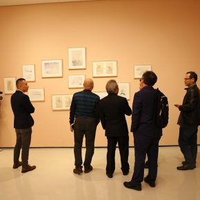 "09 Honored guests visited the exhibition 290x290 - Inquiry of the Heart: Wang Shaojun's Solo Exhibition ""It's Me"" in Chongqing"