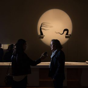 """09 Installation view of the exhibition 4 290x290 - """"The Wild Goose Flies over the Quiet Pond but Does not Leave a Shadow on the Pond"""": Xu Bing and His Students' exhibition opened in Suzhou"""