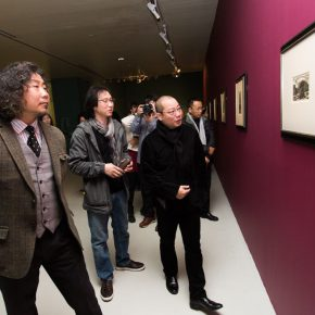 10 Honored guests visiting the show 290x290 - International Grand Exhibition for Wood Engraving and Historical Archive: Discussing the Contemporary Value of Traditional Printmaking