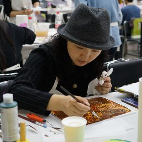 """10 Teachers from CAFA attended the course 290x290 - When Teachers Once Again Become Students: """"Propelling the popularization for the Knowledge & Charactistic of Acrylic Materials and its Application"""""""