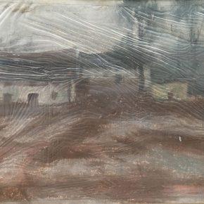 12 Tian Shixin, Landscape, pastel on paper, 22 × 30 cm, 1980
