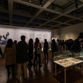 "13 Installation view of the exhibition 5 290x290 - ""The Wild Goose Flies over the Quiet Pond but Does not Leave a Shadow on the Pond"": Xu Bing and His Students' exhibition opened in Suzhou"