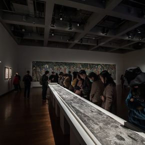 "15 Installation view of the exhibition 5 290x290 - ""The Wild Goose Flies over the Quiet Pond but Does not Leave a Shadow on the Pond"": Xu Bing and His Students' exhibition opened in Suzhou"