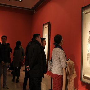 "15 Installation view of the exhibition 8 290x290 - The ""Glamour of Jao's Lotus: Touring Exhibition of Lotus-themed Artworks by Professor Jao Tsung-I"" opened in the National Art Museum of China"