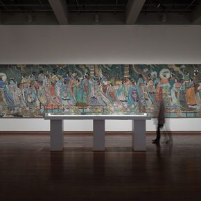 """16 Installation view of the exhibition 5 290x290 - """"The Wild Goose Flies over the Quiet Pond but Does not Leave a Shadow on the Pond"""": Xu Bing and His Students' exhibition opened in Suzhou"""