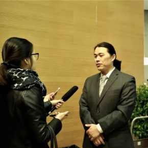 """18 Associated Professor Huang Xiaofeng Deputy Dean of the School of Humanities at the Central Academy of Fine Arts was interviewed 290x290 - Academic Conference of """"Art History in China"""" Successfully Concluded & """"Wang Xun's Anthology"""" was Issued"""