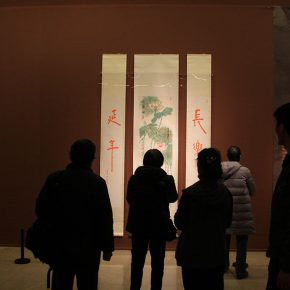 "18 Installation view of the exhibition 7 290x290 - The ""Glamour of Jao's Lotus: Touring Exhibition of Lotus-themed Artworks by Professor Jao Tsung-I"" opened in the National Art Museum of China"