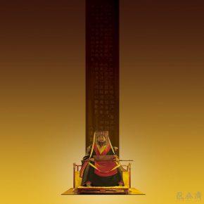 18 Tian Shixin Emperor Wu of Han bodiless carved lacquerware 188 × 183 × H208 cm 2009 290x290 - Tian Shixin