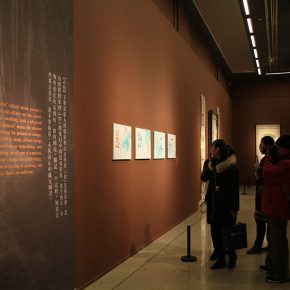 "25 Installation view of the exhibition 3 290x290 - The ""Glamour of Jao's Lotus: Touring Exhibition of Lotus-themed Artworks by Professor Jao Tsung-I"" opened in the National Art Museum of China"