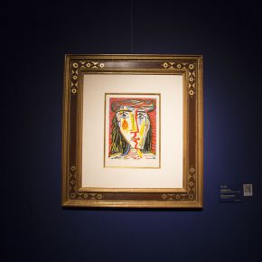 "26 The work on show at the ""Preview of Picasso Exhibition 2018"" 290x290 - Close to the Masters: the Large-Scale Exhibition of the Barbizon School debuted in China"