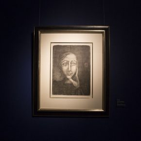 "28 The work on show at the ""Preview of Picasso Exhibition 2018"" 290x290 - Close to the Masters: the Large-Scale Exhibition of the Barbizon School debuted in China"