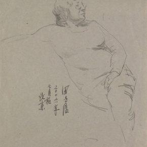 32 Tian Shixin Portrait of My Wife pencil on paper 27 × 38 cm 2006 290x290 - Tian Shixin