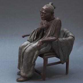 45 Tian Shixin Portrait of Tai Shi Gong Sima Qian cast copper 39 x 58 x H69 cm 2013 290x290 - Tian Shixin