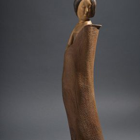 46 Tian Shixin Tang Girl series No.5 standing wood 32 x 25 x H120 cm 2006 290x290 - Tian Shixin