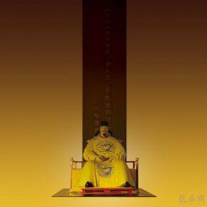 47 Tian Shixin Emperor Taizong of Tang bodiless carved lacquerware 178 × 183 × H211 cm 2009 290x290 - Tian Shixin