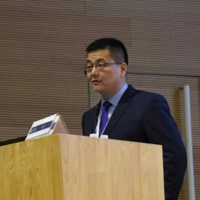 """73 Guo Wenzhong Xinjiang University.webp  290x290 - Academic Conference of """"Art History in China"""" Successfully Concluded & """"Wang Xun's Anthology"""" was Issued"""