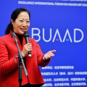 01 Ms. Wang Xiaolin Assistant President of the Central Academy of Fine Arts and Dean of the Academic Affairs Office 290x290 - Excellence/Youth – The First Joint Exhibition Featuring Excellent Art Talent Cultivated by Art Colleges (Art & Design) was unveiled in Beijing