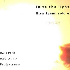 01 Poster 290x290 - In to the light: Etsu Egami Solo Exhibition was presented in Germany