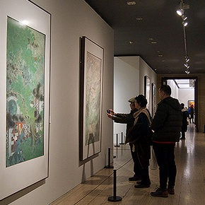 "An Art Dialogue Crossing the Time & Space: ""Looking Back 600 Years – Special Painting Exhibition from Four Great Artists of the Ming Dynasty to the Contemporary Wu School"""