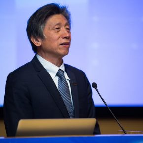 02 Fan Di'an President of CAFA addressed the opening ceremony 1 290x290 - EAST–International Conference on Education, Art, Science and Technology was held