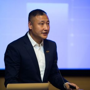 05 Chang Zhigang Executive Vice Director of CAFA Visual Art Innovation Institute presided over the opening ceremony 1 290x290 - EAST–International Conference on Education, Art, Science and Technology was held