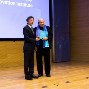 06 Fan Di'an President of CAFA presented a letter of appointment for the distinguished expert of the CAFA Visual Art Innovation Institute 1 290x290 - EAST–International Conference on Education, Art, Science and Technology was held
