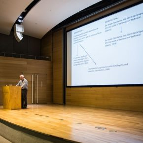 """06 View of the lecture 2 290x290 - Thomas LaMarre: """"Understanding Gilbert Simondon: Humans and Machines"""""""