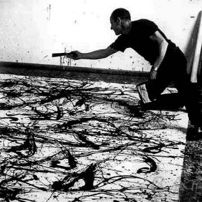 "07 Jackson Pollock creating a work image from the network 290x290 - Arne De Boever: ""Automatic Art, Automated Trading"""