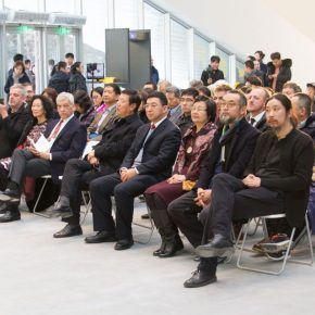 "11 View of the opening ceremony 290x290 - Brazilian Art Landed in China: ""Troposphere"" Chinese and Brazilian Contemporary Art Exhibition opened"