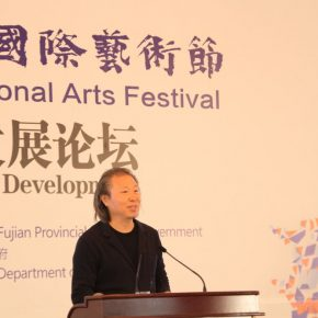 "11 Zhu Pei Founder of Studio Zhu Pei visiting professor of Harvard University and Colombia University 1 290x290 - ""Shared Value"": Maritime Silk Road Forum on Arts Development was Held in Quanzhou"
