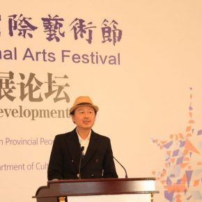 "12 Dere Erh Director of Shanghai Deke Erh Silk Road Visual Documentary Center President and Editor in Chief of Hong Kong Old China Hand Press 1 290x290 - ""Shared Value"": Maritime Silk Road Forum on Arts Development was Held in Quanzhou"