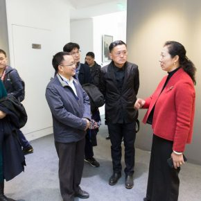 12 Honored guests visited the exhibition 290x290 - Excellence/Youth – The First Joint Exhibition Featuring Excellent Art Talent Cultivated by Art Colleges (Art & Design) was unveiled in Beijing