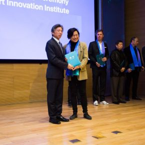 13 Fan Di'an President of CAFA presented a letter of appointment for the distinguished expert of the CAFA Visual Art Innovation Institute 1 290x290 - EAST–International Conference on Education, Art, Science and Technology was held
