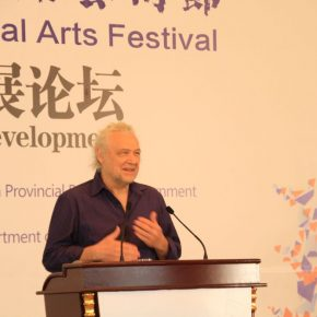 "13 Gary Hill an American artist 1 290x290 - ""Shared Value"": Maritime Silk Road Forum on Arts Development was Held in Quanzhou"