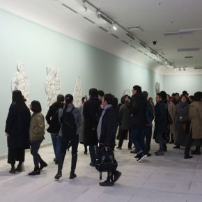 14 Installation view of the exhibition 290x290 - Crossing the Idol and Maze: Primary Form in Re-Idol – Yue Minjun Solo Exhibition Opened