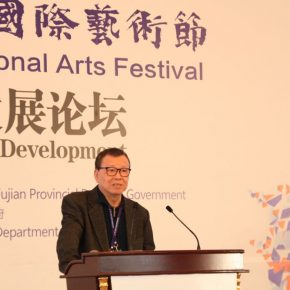 "14 Wang Renjie a playwright Librarian of Fujian Municipal Culture and History Library 1 290x290 - ""Shared Value"": Maritime Silk Road Forum on Arts Development was Held in Quanzhou"