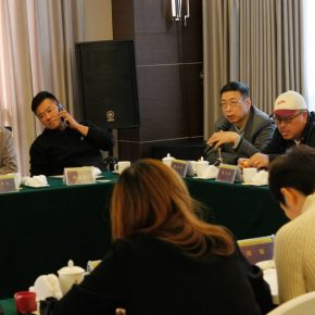 """16 View of the discussion – Yin Shuangxi delivered a speech 290x290 - Focusing on """"Seeing and Reading: Critics and Readers"""" The 11th Annual Conference of Chinese Art Critics Held in Zhangzhou"""