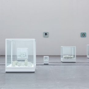 """16 Yin Xiuzhen 21 Grams polymeric plate porcelain glass 290x290 - When Only Left with Future, We Can Start Again – Yin Xiuzhen's """"Back to the end"""" opened in Pace Beijing"""