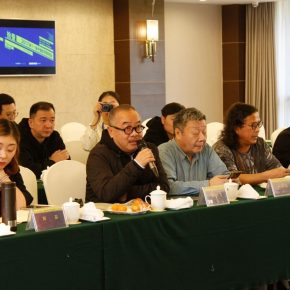 """17 View of the discussion – Guan Yuda delivered a speech 290x290 - Focusing on """"Seeing and Reading: Critics and Readers"""" The 11th Annual Conference of Chinese Art Critics Held in Zhangzhou"""