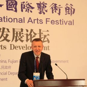 "19 Valentyn Velychko 290x290 - ""Shared Value"": Maritime Silk Road Forum on Arts Development was Held in Quanzhou"