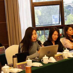 """20 View of the discussion – Zhai Jing delivered a speech 290x290 - Focusing on """"Seeing and Reading: Critics and Readers"""" The 11th Annual Conference of Chinese Art Critics Held in Zhangzhou"""
