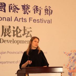 "21 American contemporary artist Magdalena Hill 1 290x290 - ""Shared Value"": Maritime Silk Road Forum on Arts Development was Held in Quanzhou"