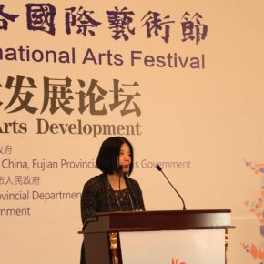 "22 Hsieh Pei ni Chief Executor of HOS Foundation Director of Department of Cultural Affairs Taipei City 1 290x290 - ""Shared Value"": Maritime Silk Road Forum on Arts Development was Held in Quanzhou"