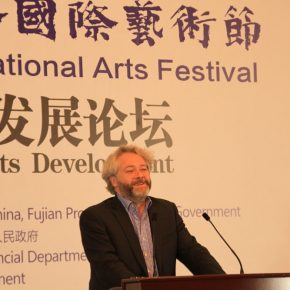 "23 François Michaud Chief Curator at the Museum of Modern Art of the City of Paris 1 290x290 - ""Shared Value"": Maritime Silk Road Forum on Arts Development was Held in Quanzhou"