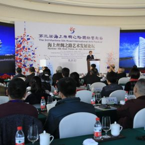 "24 View of the forum 1 290x290 - ""Shared Value"": Maritime Silk Road Forum on Arts Development was Held in Quanzhou"